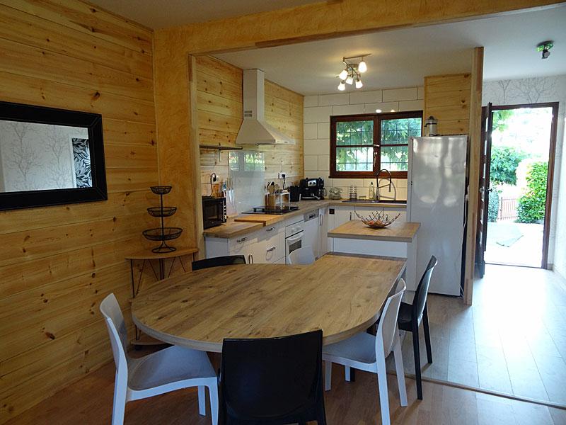Maison - Cuisine ouverte 1 - Locations Christelle